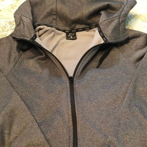 Men's Nike dry-fit hooded sweat jacket
